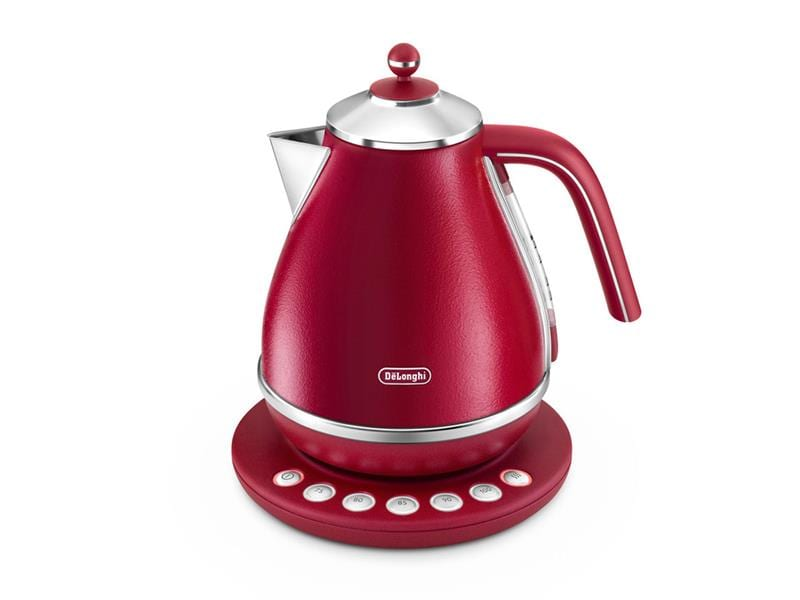 DeLonghi Icona Elements Digital Kettle Flame Red KBOE 2011.R