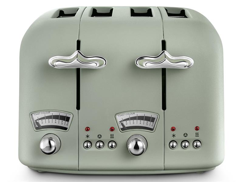 Argento Flora 4 Slice Toaster – Peppermint Green CT04.GR