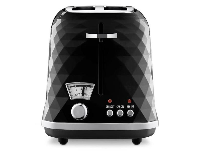 Brillante 2 Slice Toaster - Black - CTJ 2003.BK