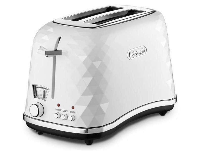 Brillante White 2 slice Toaster - CTJ2003W