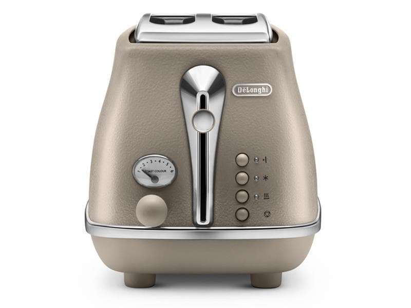 Icona Elements 2 Slice Toaster - Desert Beige CTOE 2003.BG