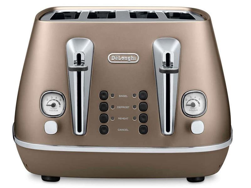 Distinta 4 slice toaster - Future Bronze CTI 4003.BZ