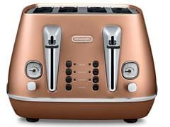 Distinta 4 slice toaster - Style Copper CTI 4003.CP