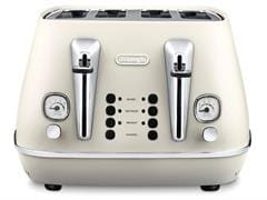 Distinta 4 slice toaster - Pure White CTI 4003.W
