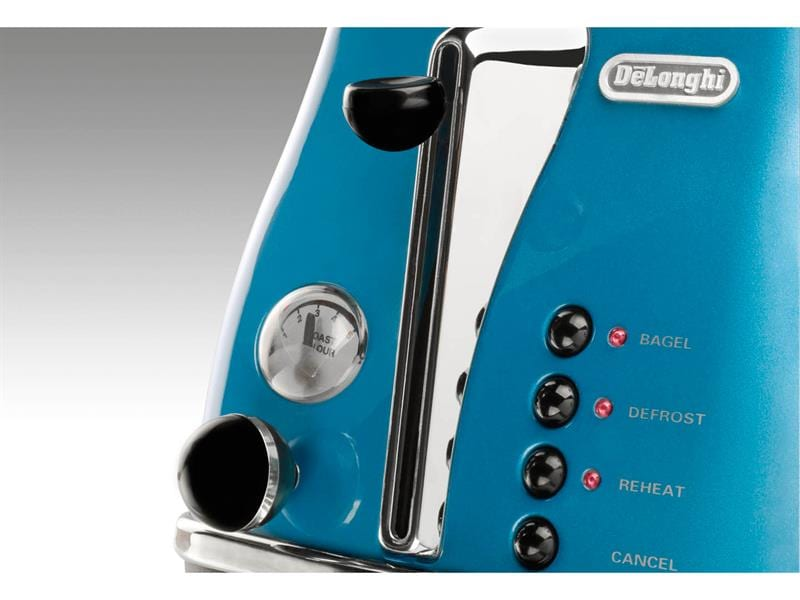 Icona Blue 2 Slice Toaster - CTO2003B