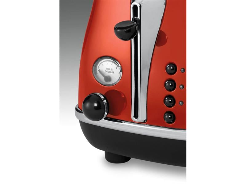 Icona 2 Slice Toaster - Red - CTO 2003.R