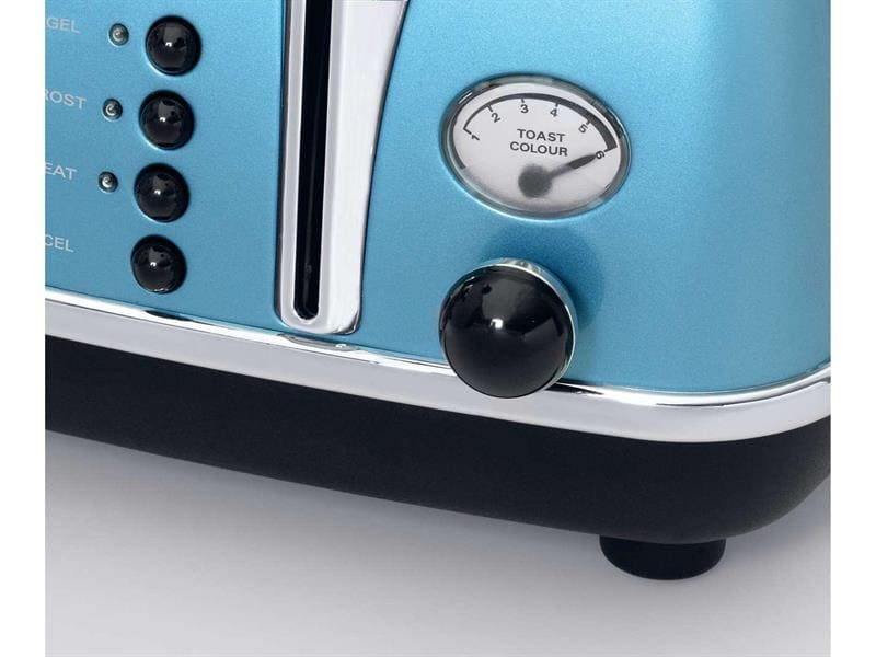 Icona 4 Slice Toaster - Blue - CTO 4003.B