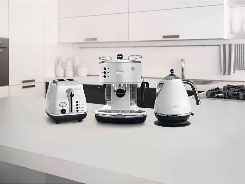 Icona White 2 Slice Toaster - CTO2003W