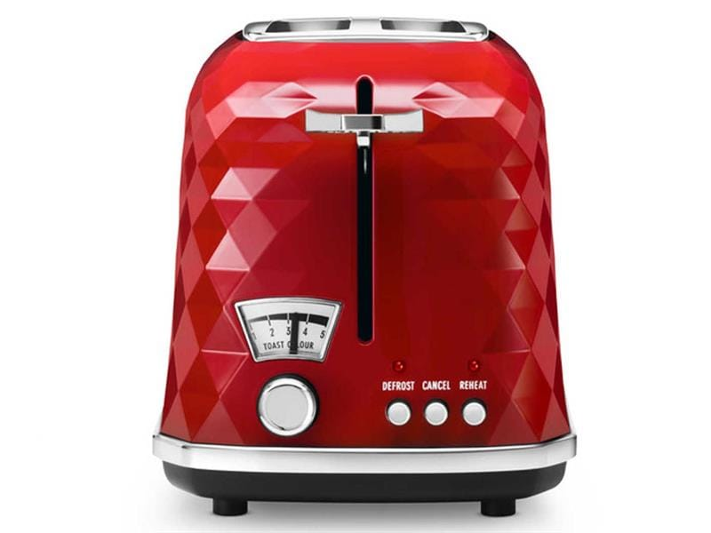 Brillante 2 Slice Toaster - Red CTJ 2003.R