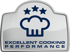 Excellent cooking performance