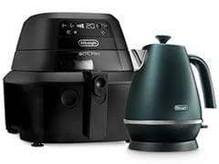 DeLonghi IdealFry Digital Black Low Oil Air Fryer FH2394BK Bundle