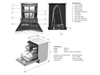 Free Standing 60cm Dishwasher - DEDW645S - Installation Diagram