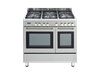 Factory Second: Upright Double Oven - DE926GWF