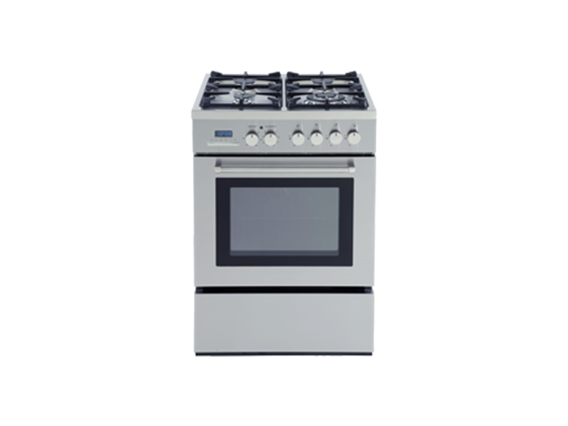 Freestanding Electric Oven with Gas Cooktop - 60cm - DE60GW