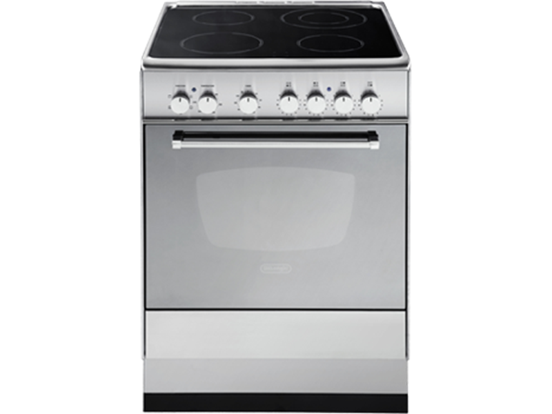 Freestanding Oven With Electric Cooktop Delonghi