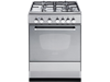 DeLonghi 60cm Freestanding Oven with Gas Cooktop DEF605GW
