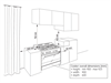 Freestanding Oven/Stove - 90cm - Stainless Steel DEF905GW - Installation Diagram