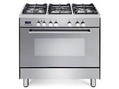 Freestanding Fan Assisted 90cm Oven With Gas Cooktop - DEF905GW1X1