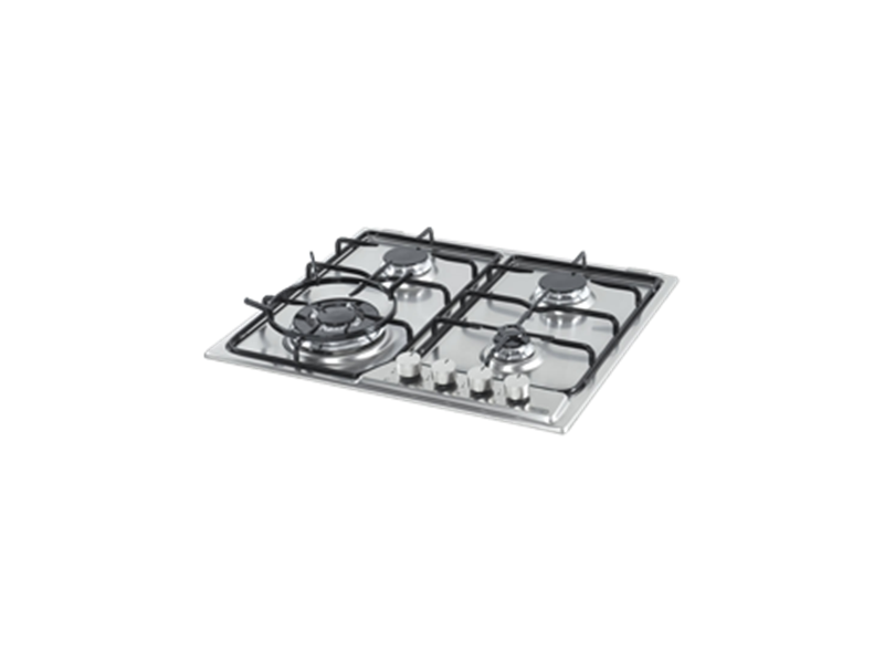 Gas Cooktop with Wok Burner - 60cm – Stainless Steel DEGH60ST