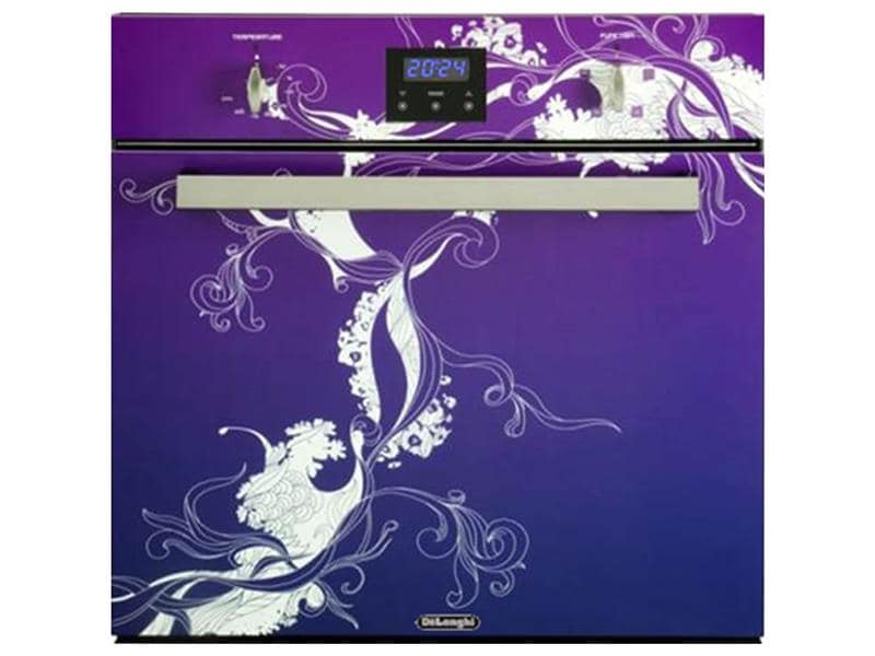 60cm - Full Multifunction Purple Art In-Built Oven - DE608ARTP