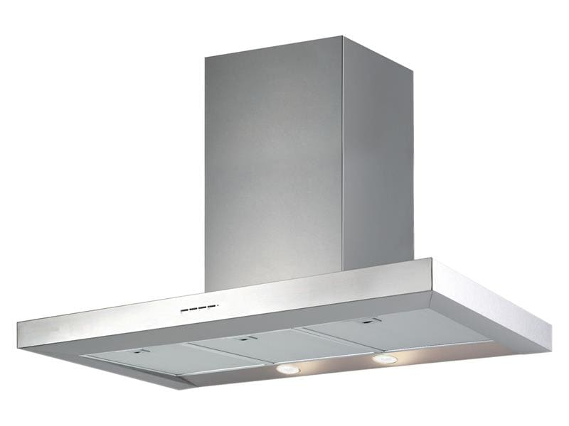 DeLonghi Canopy Rangehood 90cm Stainless Steel and Glass