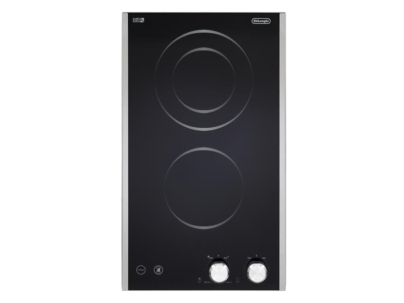 30cm 2 Zone Black Glass Ceramic Cooktop DE302HBX1 - PV30DA004X