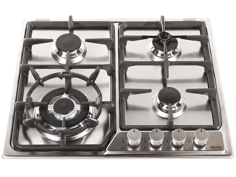 Gas Cooktop with Wok Burner - 60cm – Stainless Steel DEGH60