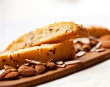 Cinnamon and Hazlenut Biscotti