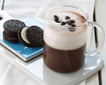 Dark Biscuits Iced Chocolate