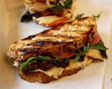 Mushroom and Fontina Grilled Sandwich