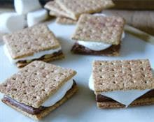 Grilled Toffee S'mores