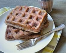 Apple Cinnamon Churro Waffles