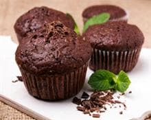 Muffin ao chocolate