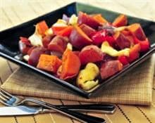 potatoes, beets and carrots