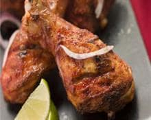 spicy chicken drumsticks with beer
