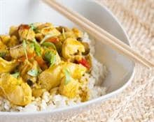 curry chicken with apples