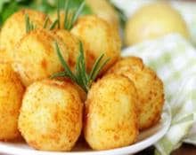 potato and courgettes croquettes