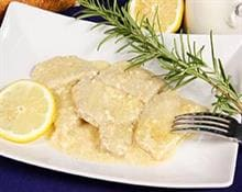 Scallopini with lemon