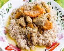 Wheat Porridge with beef