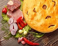 Savoury meat pie