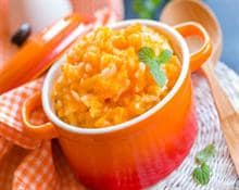 Pumpkin porridge with rice