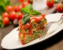 ricotta and spinach lasagne