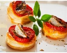 Mini-pizzas congeladas