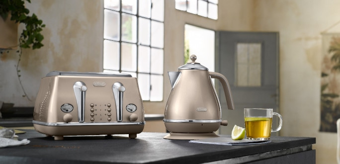 Discover NEW Icona Metallics breakfast collection